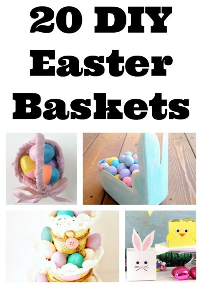 20 DIY Easter Baskets