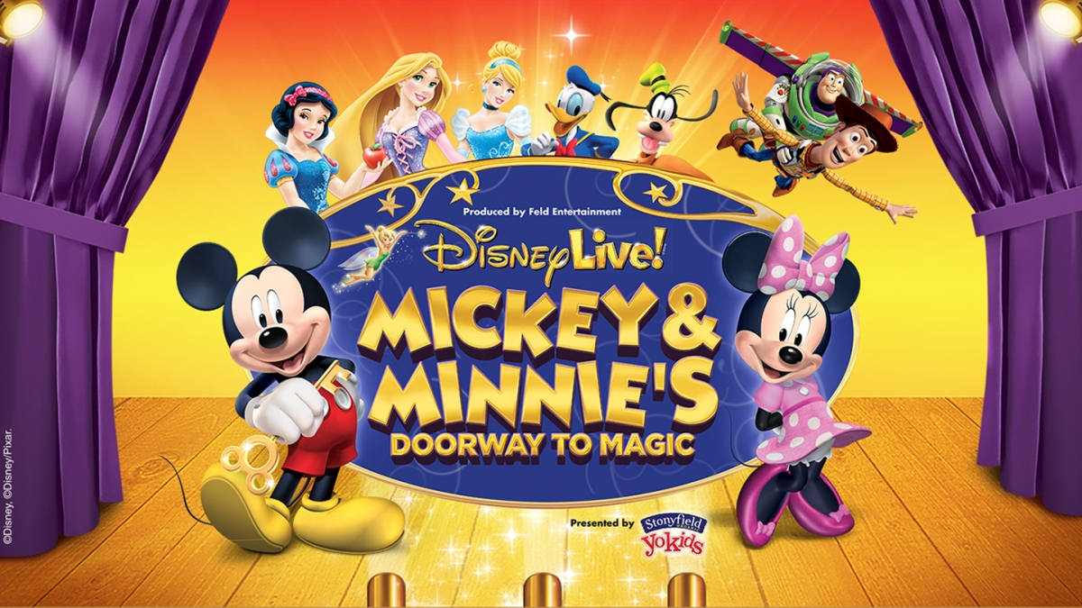 Disney Live Mickey And Minnie S Doorway To Magic 11 20 Queen Thrifty