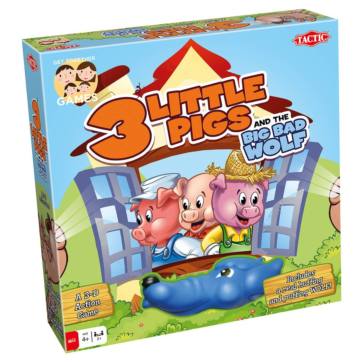 3 Little Pigs and the Big Bad Wolf Board Game #HolidayGiftGuide ...
