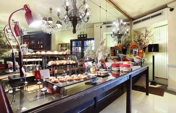 Hotel-Trianon-Rive-Gauche-Buffet-petit-dejeuner---630x405---©-Lucien-Daguet