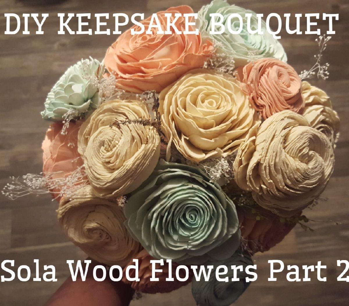 Diy keepsake bridal bouquet sola wood flowers part 2 diy keepsake bridal bouquet sola wood flowers part 2 weddingwednesday queen thrifty izmirmasajfo